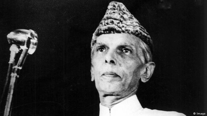 Porträt von Politiker und Widerstandskämpfer Muhammad Ali Jinnah (Imago)