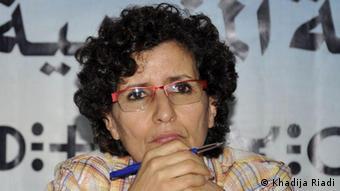 Menschenrechtsaktivistin Khadija Riyadi