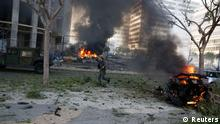 Libanon Explosion in Beirut 27.12.2013