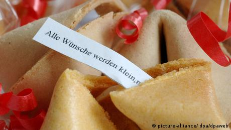 A fortune cookie (picture-alliance/ dpa/dpaweb)