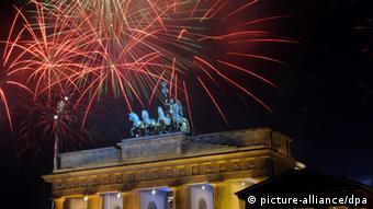 Berlin - Sylvester am Brandenburger Tor