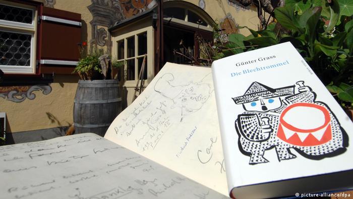 Bildergalerie Günter Grass Zeichnung Buchcover