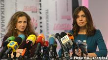 Pussy Riot Presse Konferenz in Moskau