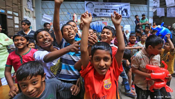 Bildergalerie Wahl in Bangladesch