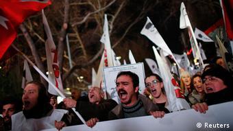 تظاهرات روز جمعه در استانبول با حمله نیروهای پلیس پایان یافت
