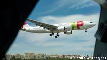 Flugzeug Fluggesellschaft TAP