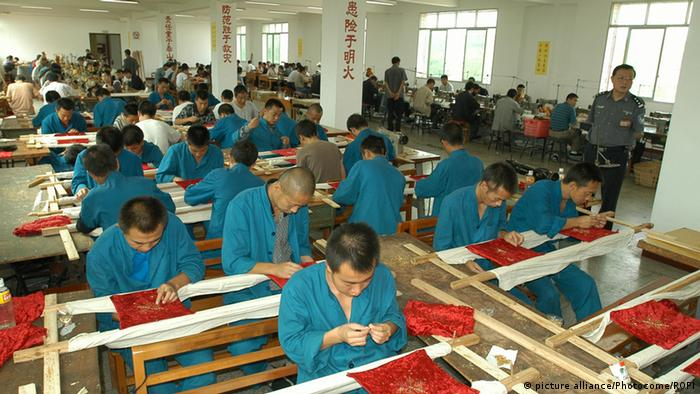 China Arbeitslager 2003 (picture alliance/Photocome/ROPI)