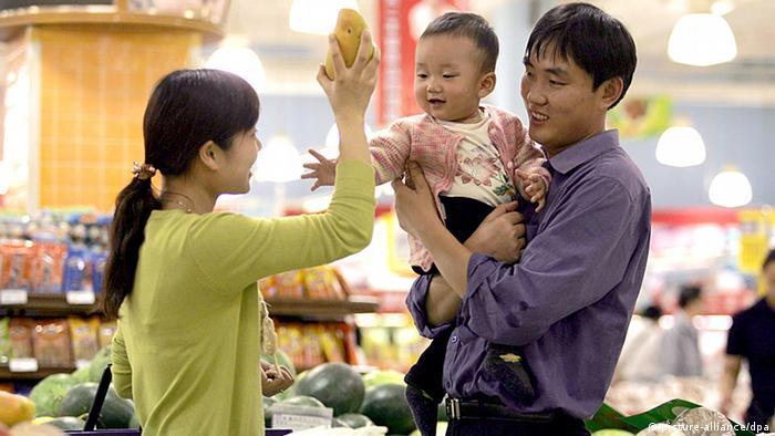 China Symbolbild Ein Kind Politik