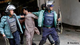 Bangladesch Aktivist Hizb-ut-Tahrir Dhaka Zusammenstöße Polizei