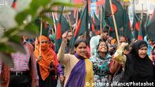Bangladesch Polizei Khaleda Zia Residenz Dhaka Protest Rally Wahlen