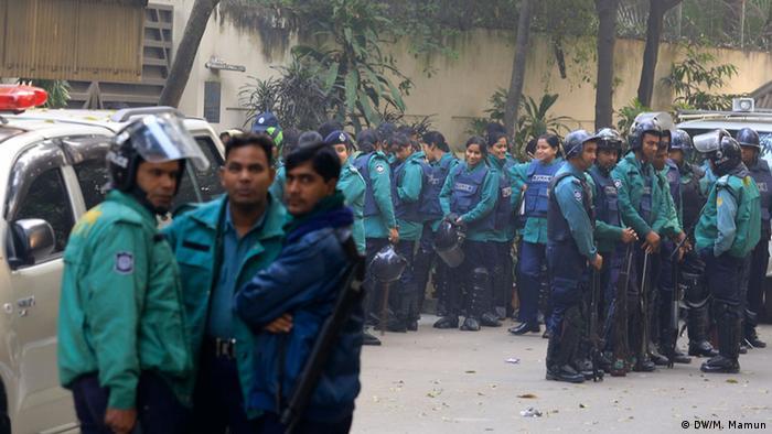 Bangladesch Ausschreitungen vor den Wahlen