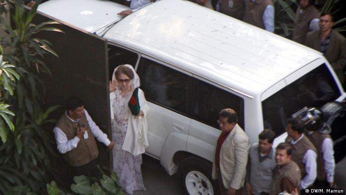 Bangladesch Khaleda Zia vor den Wahlen