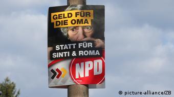 NPD Wahlplakat