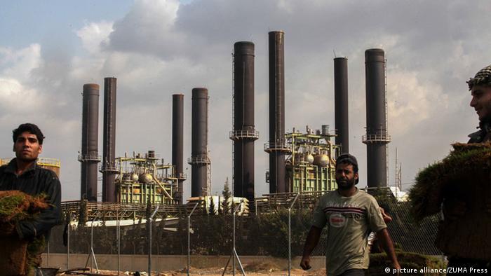Kraftwerk in Gaza