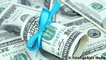 Symbolbild Spende Geldgeschenk
