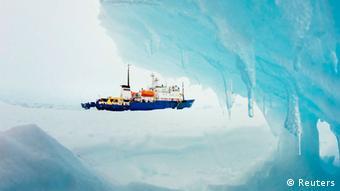 Das Forschungsschiff Akademik Shokalskiy (Foto: Reuters)