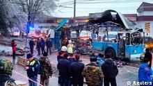 Russland Wolgograd Explosion Anschlag Bus 30. Dez. 2013