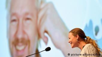 سارا هریسون در همایش هکرها در هامبورگ