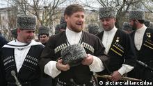 Tschetschenien Präsident Ramzan Kadyrov