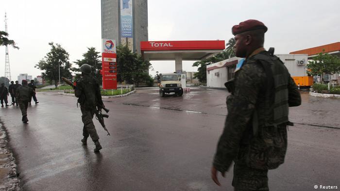 Unruhen in Kinshasa Kongo
