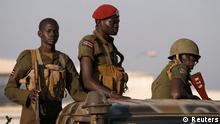 Konflikt im Südsudan Regierungssoldaten 20.12.2013
