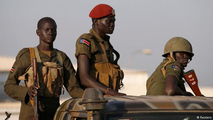 Militares sul-sudaneses (Foto simbólica)