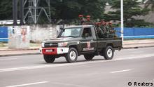 Demokratische Republik Kongo Militär Soldaten