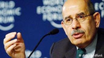 Portrait-Bild des IAEO-Direktor Mohammed el Baradei