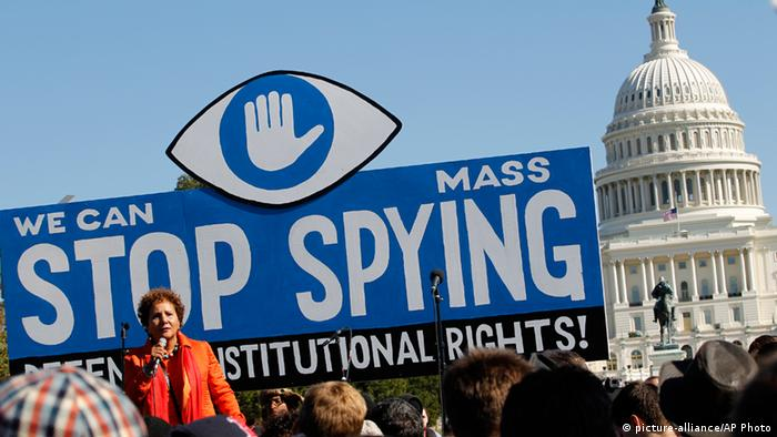 ACLU Protest NSA in Washington ARCHIV Oktober 2013