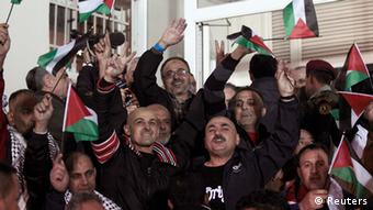 Palestinian prisoners released in December Photo: REUTERS/Ammar Awad