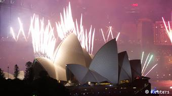 Silvester Jahreswechsel 2013 - 2014 in Sydney
