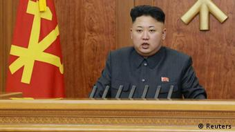 North Korean leader Kim Jong Un (Photo: REUTERS/Kyodo)