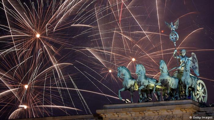 Silvester 2013/2014 Berlin (Getty Images)
