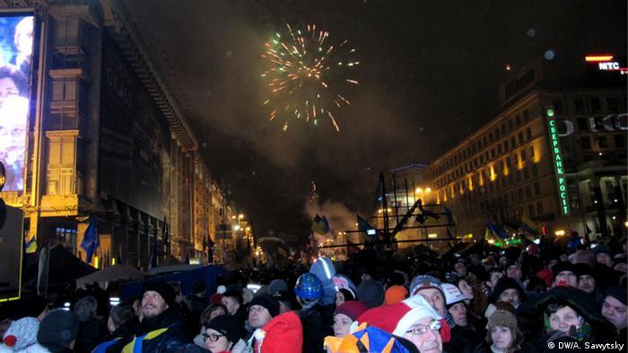 Учасник новорічного святкування: тепер люди стали набагато глибше усвідомлювати й цінувати свою свободу