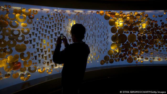 Goldmuseum Bogota Kolumbien (EITAN ABRAMOVICH/AFP/Getty Images)