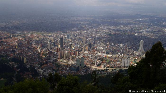 Bogota Kolumbien Übersicht