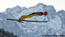 Andreas Wellinger Skispringen Garmisch-Partenkirchen Deutschland