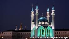Moschee in Kasan, Russland