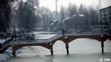 Erster Schnee in Kaschmir, Indien; Copyright: UNI