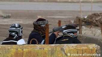 تروریستها کنترل بخشی از شهر رمادی را در اختیار گرفتهاند