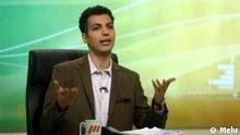Title: Adel Ferdosipour Adel Ferdosipour , is an Iranian journalist, translator, football commentator and television show host and producer. He is the host and producer of the popular TV show: Navad (i.e. ninety in Persian language, with reference to standard duration of an association football match). The TV show Navad has been on air for 14 years now. His parents are from Rafsanjan, a town in Kerman province. He is an alumnus of Sharif University of Technology & a lecturer of professional language. He is claimed to be a Perspolis fan, although it is difficult to predict from his comments. Adel is a close friend to Ali Daei as they both attended the same university. He is a member and the captain of celebrities team in Iran. Schlagwort: Iran, Fußball, Navad, Adel Ferdosipour Quelle: Mehr