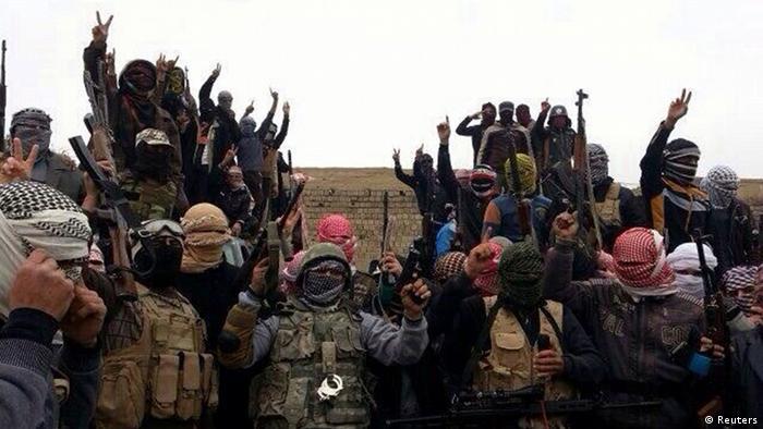 اسلامگریان مسلح در شهر رمادی در استان انبار عراق