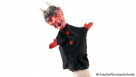 Teufel Handpuppe