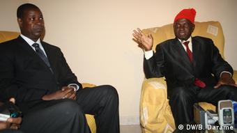 Kumba Iala & Präsidentschaftskandidat Nuno Nabian in Bissau