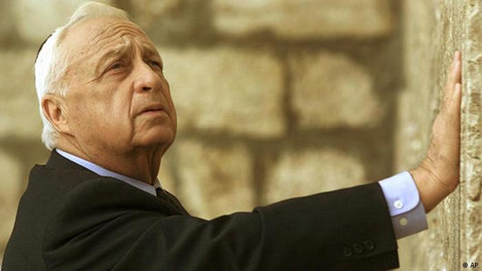 Historische Nahostgespräche 2001 Scharon israelischer Premier