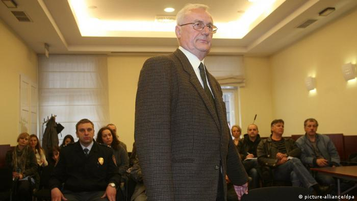 Josip Perkovic. (Photo: EPA/ DARIO GRZELJ)