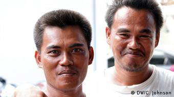 Accused of murder, Edwin Cornejo, 33 (left) and his brother Roger, 34 (right) have spent 10 years in jail awaiting court rulingsvia