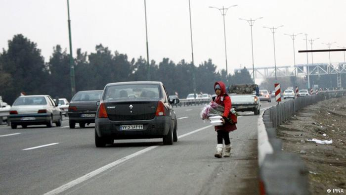 Iran Straßenkinder (IRNA)