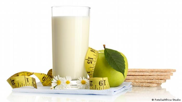 Joghurt und Wellness Symbolbild