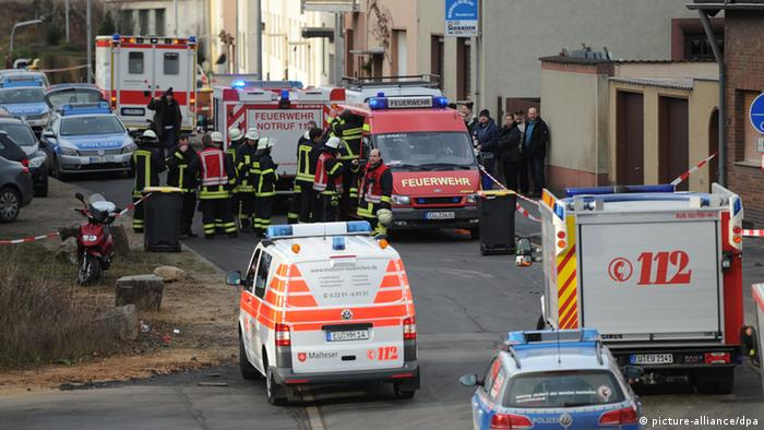 Bomb goes off in Euskirchen